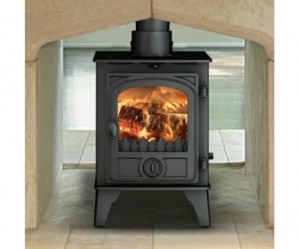 Hunter Hawk 4 Double Sided Stove