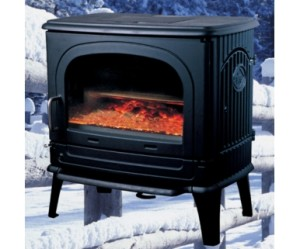 Dru 78MF cast iron multifuel stove