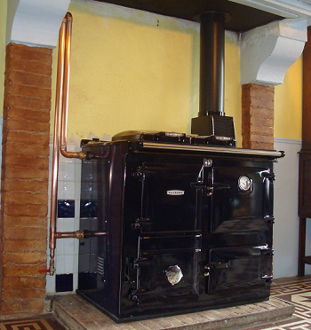Wood Burning Boiler Stove Installations