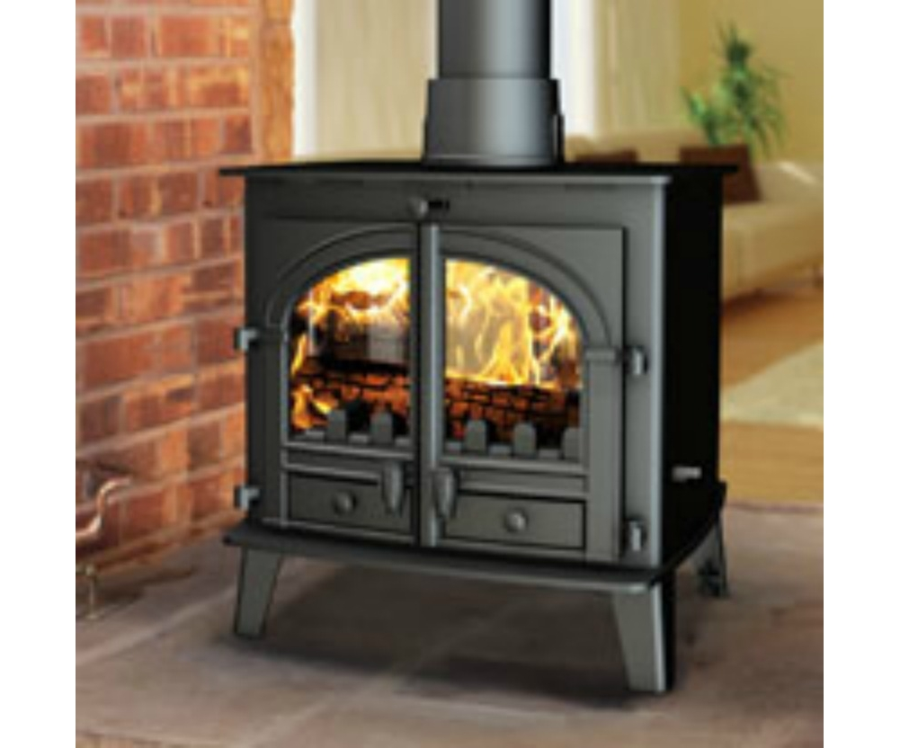parkray consort 7 double face multicombustible po le bois stove sellers. Black Bedroom Furniture Sets. Home Design Ideas