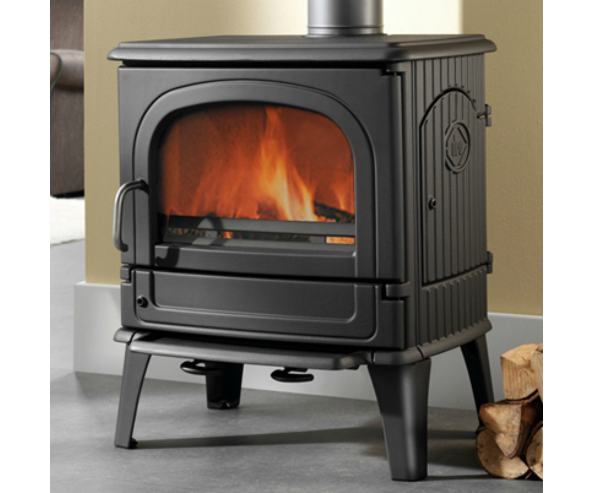 Dru 64cb Stoves Cast Iron Wood Burning Stove Stoveseller
