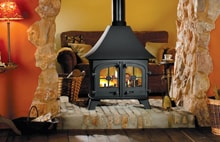 Double Sided Wood Burner