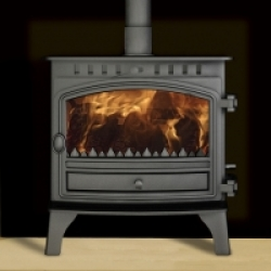 Wood Burning Stoves Hunter Herald 8 Boiler Stove
