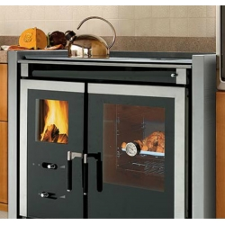 Wood Burning Range Cooker Italy Built In