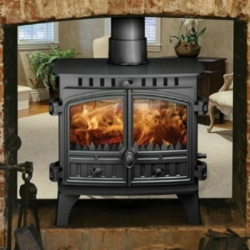 Wood Burning Stoves Hunter Herald 8 Double Sided