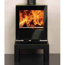 Contemporary Wood Stove Stovax Riva Vision Small