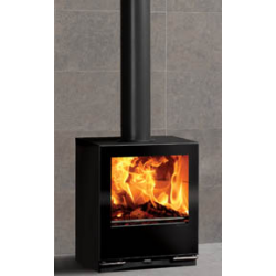 Contemporary Wood Stove Stovax Riva Vision Medium