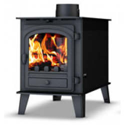 Low Output Stoves Parkray Consort 4 Double Sided Stove