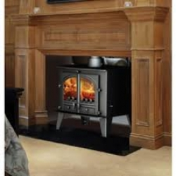 Double Sided Wood Burner Parkray Consort 9 Double Sided Stove