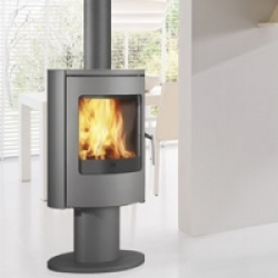 Wood Burning Stoves Edilkamin Deluxe