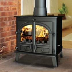 Double Sided Wood Burner Parkray Consort 7 Double Sided Stove