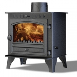 Wood Burning Stoves Hunter Herald 6 Double Sided