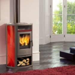 Wood Burning Stoves Edilkamin Iris
