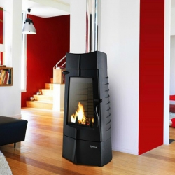 Contemporary Wood Stove Invicta Chamane