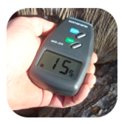 Wood Burning Accessories Moisture Meter
