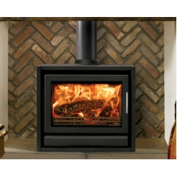 Contemporary Wood Stove Stovax Riva F66 Freestanding