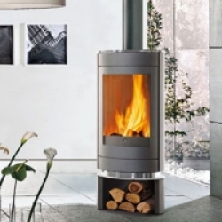 Wood Burning Stoves Edilkamin Roller