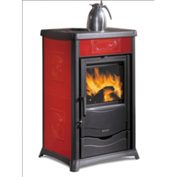 Contemporary Wood Stove Thermo Rossella
