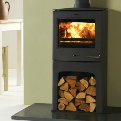 Contemporary Wood Stove Yeoman CL5 Highline