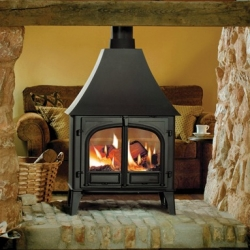 Double Sided Wood Burner Stovax Stockton 11 Double Sided