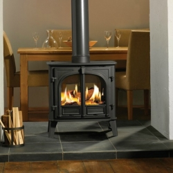 Double Sided Wood Burner Stovax Stockton 8 Double Sided