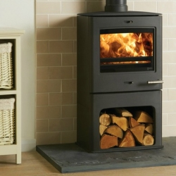 Contemporary Wood Stove Yeoman CL5 Midline