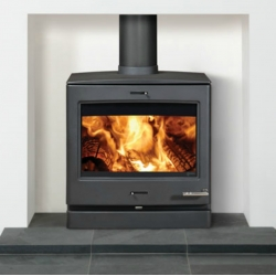 Contemporary Wood Stove Yeoman CL8 Boiler Stove