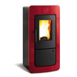 Contemporary Wood Stove Diadema Idro