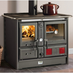 Wood Burning Boiler Stoves Thermo Rosa XXL Ready DSA