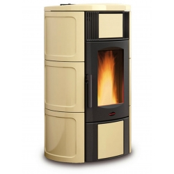 Contemporary Wood Stove Iside Idro