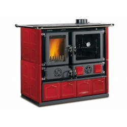 Wood Burning Range Cooker Nordica Rosa Maiolica