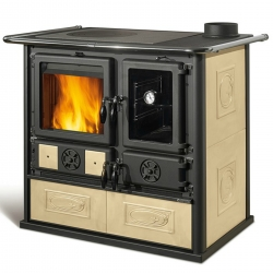 Wood Burning Range Cooker Rosa Reverse