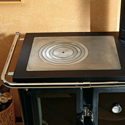 Wood Burning Range Cooker Rosetta Maiolica