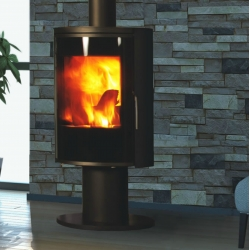 Contemporary Wood Stove Nara