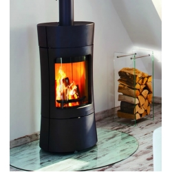 Contemporary Wood Stove Vispa