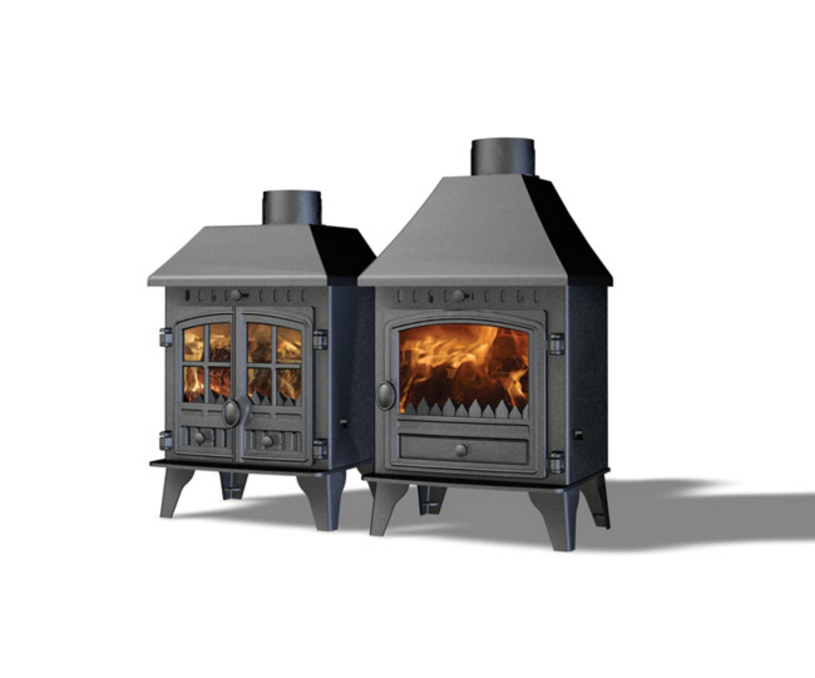 hunter herald 4 multicombustible po le bois stove. Black Bedroom Furniture Sets. Home Design Ideas