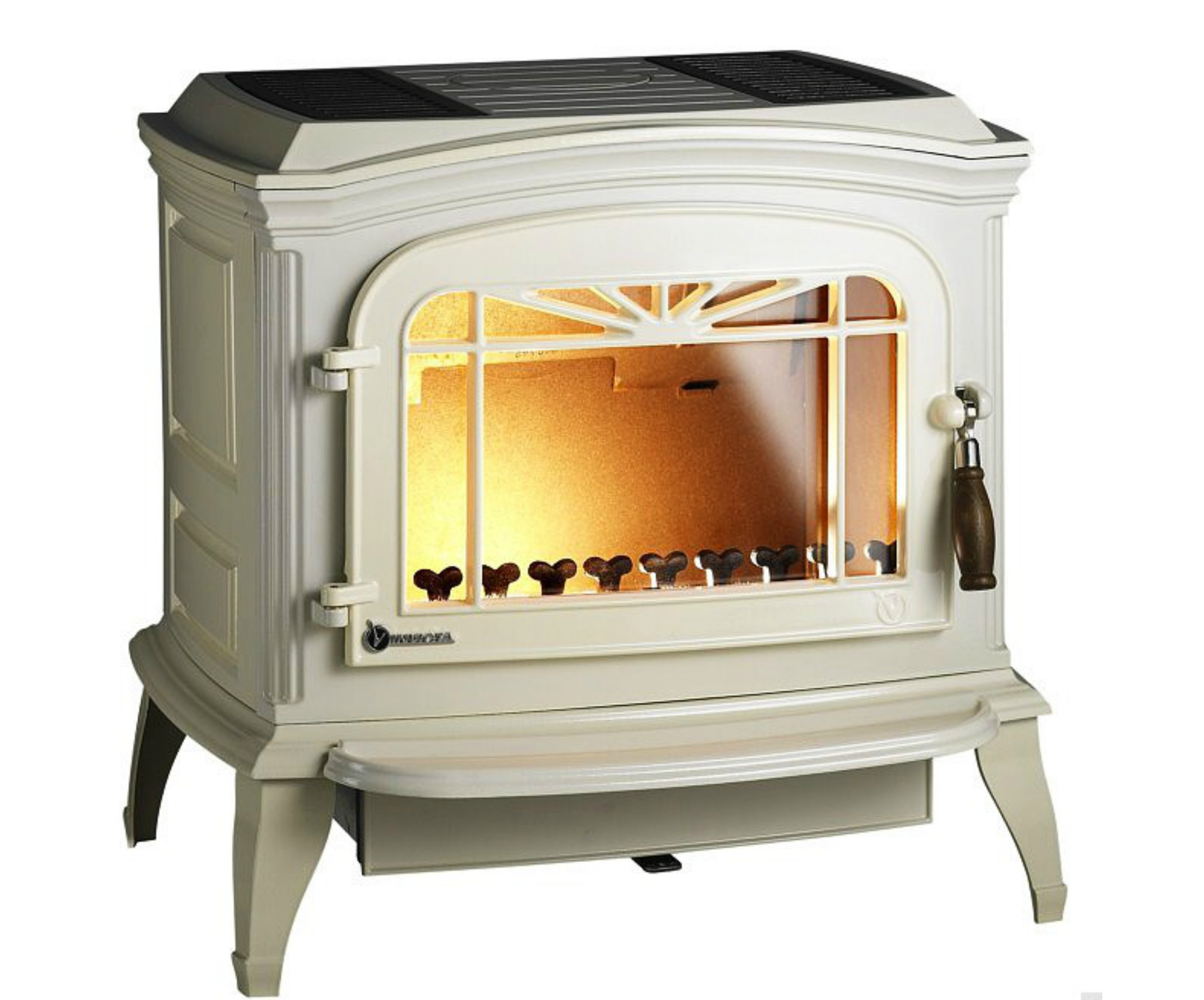 Invicta bradford wood burning stove at stovesellers - Poele a bois double combustion invicta ...