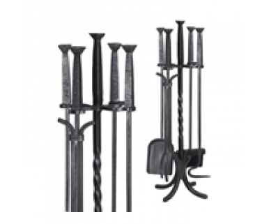 Wrought Iron - 4 piece square top