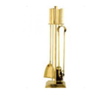 Companion Set, 4 piece Brass tools, No.2