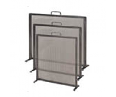 Fire Guard, Wrought iron with handle