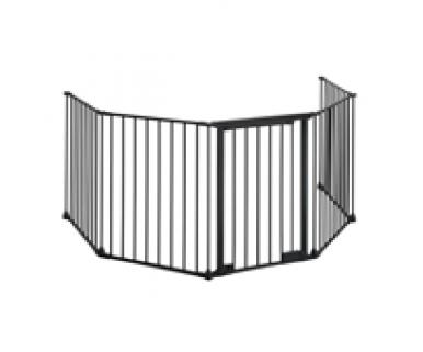 Five piece hearth gate