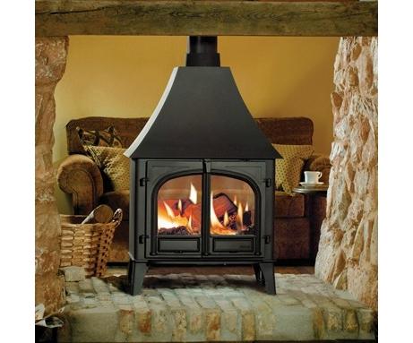stovax stockton 11 double face multicombustible po le bois stove sellers. Black Bedroom Furniture Sets. Home Design Ideas