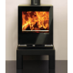 Wood Burning Stoves Stovax Riva Vision Small
