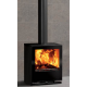Wood Burning Stoves Stovax Riva Vision Medium