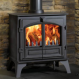 Wood Burning Stoves Stovax Riva Plus Large
